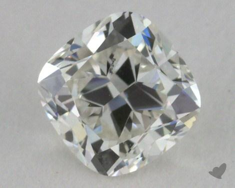 0.53 Carat I-SI1 Cushion Cut Diamond