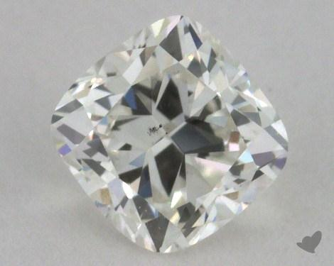 0.52 Carat I-SI1 Cushion Cut Diamond