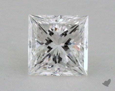 1.02 Carat E-VS2 Ideal Cut Princess Diamond