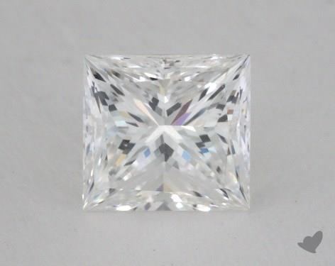 1.31 Carat F-VVS2 Ideal Cut Princess Diamond