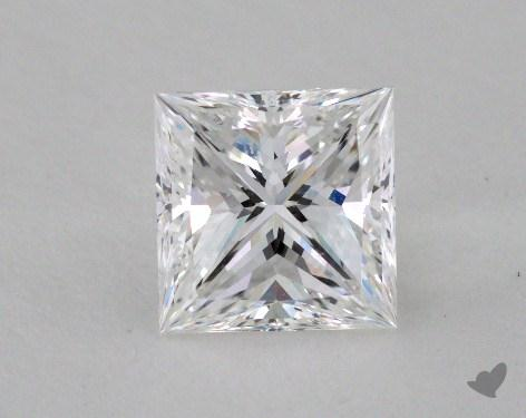 1.64 Carat F-VVS2 Ideal Cut Princess Diamond