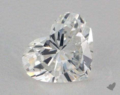 0.71 Carat G-SI1 Heart Shaped  Diamond