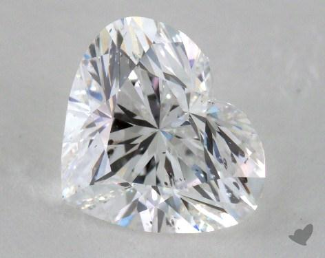 2.00 Carat E-SI2 Heart Cut Diamond 