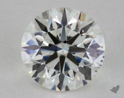 1.61 Carat I-SI1 Ideal Cut Round Diamond