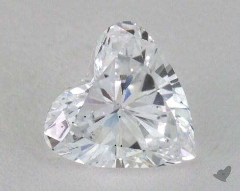 1.10 Carat D-SI1 Heart Cut Diamond