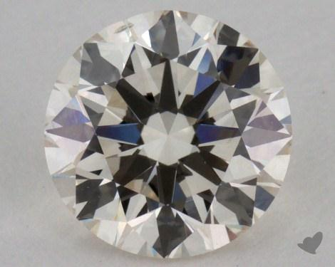 1.03 Carat K-VS2 Excellent Cut Round Diamond