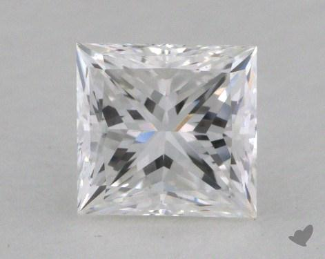 1.02 Carat E-VVS1 Princess Cut  Diamond