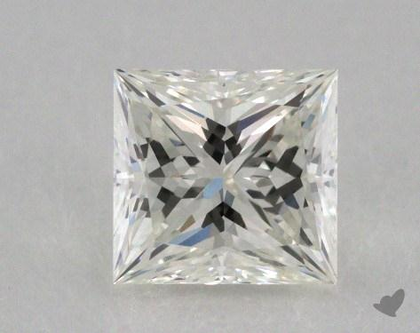 0.79 Carat I-VVS2 Ideal Cut Princess Diamond