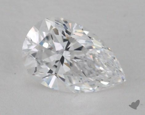 1.51 Carat D-SI1 Pear Shape Diamond