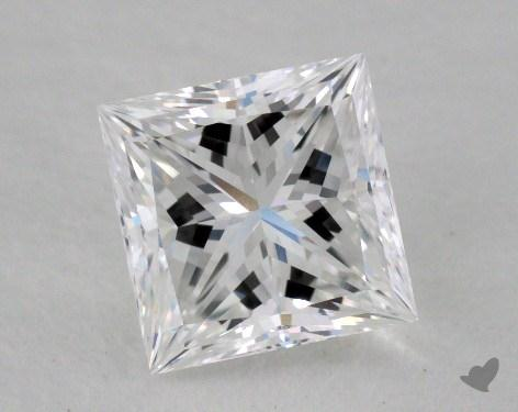 1.17 Carat D-IF Ideal Cut Princess Diamond
