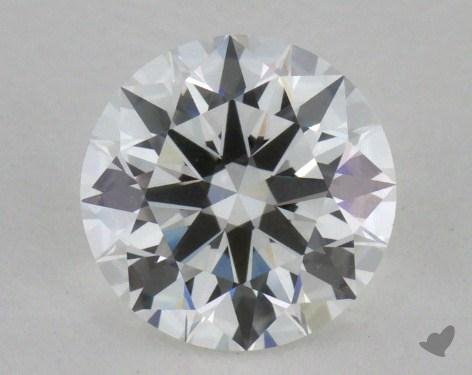 1.02 Carat F-VVS1 Excellent Cut Round Diamond 