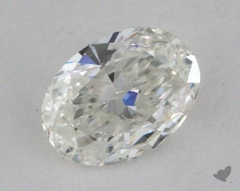 0.71 Carat G-SI1 Oval Cut Diamond