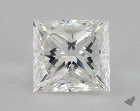 2.09 Carat F-VS2 Ideal Cut Princess Diamond