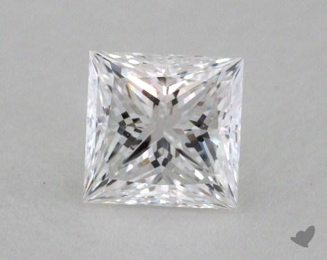 1.36 Carat D-VVS2 Ideal Cut Princess Diamond