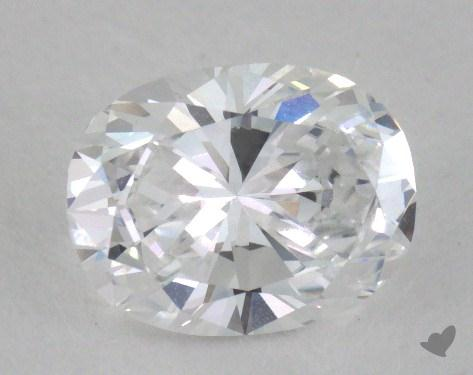 1.17 Carat D-VS1 Oval Cut Diamond