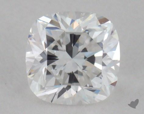 0.29 Carat D-SI1 Cushion Cut Diamond