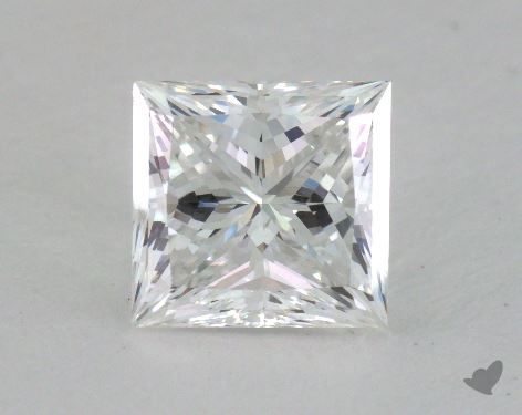 1.14 Carat F-VVS1 Ideal Cut Princess Diamond