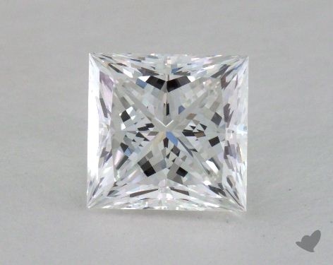 1.06 Carat F-VS1 Ideal Cut Princess Diamond