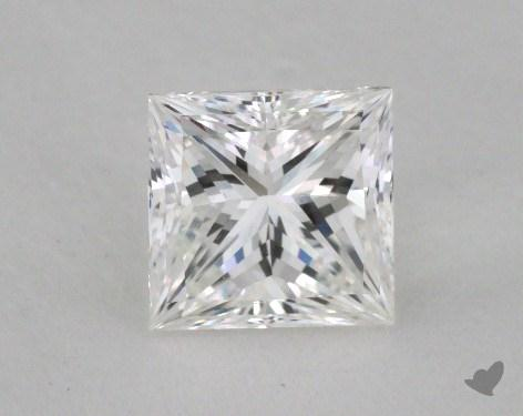 1.13 Carat F-VS1 Ideal Cut Princess Diamond