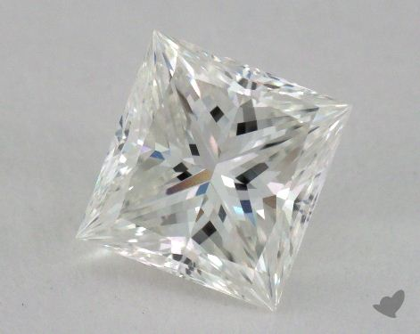 1.19 Carat G-VVS1 Ideal Cut Princess Diamond