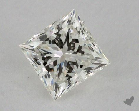 1.55 Carat J-VVS2 Ideal Cut Princess Diamond