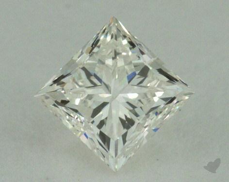 0.73 Carat I-VVS1 Very Good Cut Princess Diamond