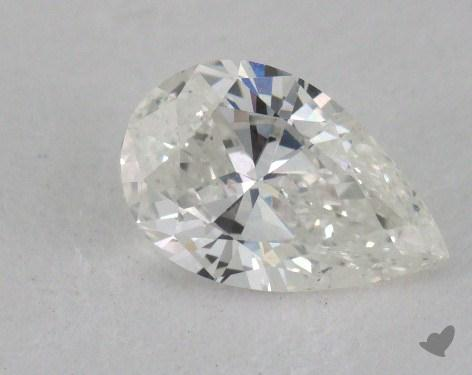 0.70 Carat H-I1 Pear Shape Diamond