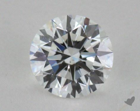 1.26 Carat E-VS2 Excellent Cut Round Diamond