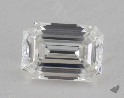 0.93 Carat H-VVS2 Emerald Cut Diamond