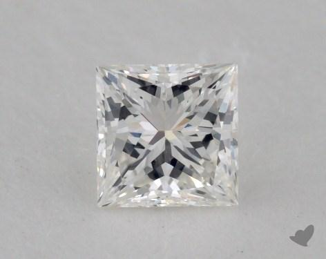 0.51 Carat G-VVS2 Very Good Cut Princess Diamond
