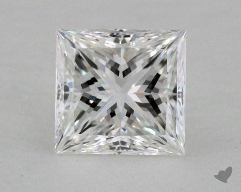 1.03 Carat F-VVS2 Ideal Cut Princess Diamond