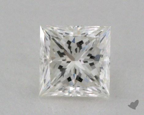 0.44 Carat G-SI2 Ideal Cut Princess Diamond