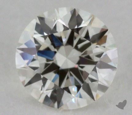 0.71 Carat J-VS2 Excellent Cut Round Diamond