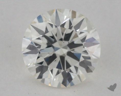 0.53 Carat K-VS2 Excellent Cut Round Diamond