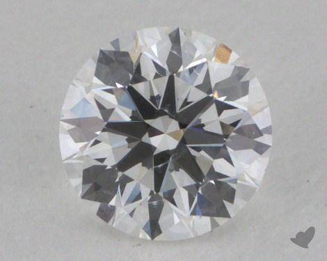 0.61 Carat F-SI1 Ideal Cut Round Diamond