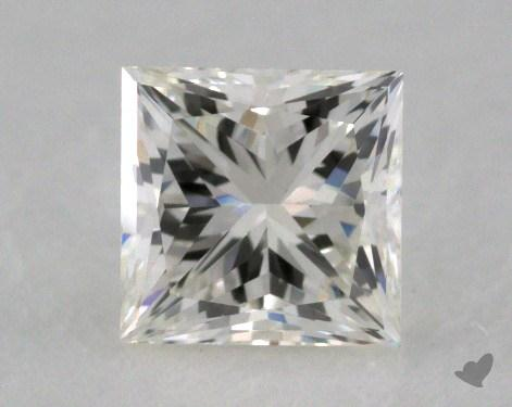 0.50 Carat J-VS2 Princess Cut  Diamond