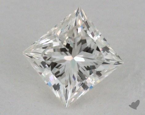 0.62 Carat H-I1 Princess Cut Diamond