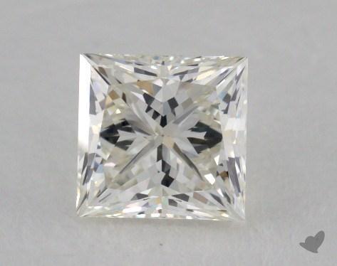 0.75 Carat K-VS2 Ideal Cut Princess Diamond