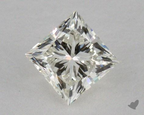 0.71 Carat K-VVS2 Princess Cut  Diamond
