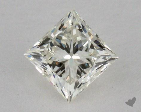 0.72 Carat K-VVS2 Very Good Cut Princess Diamond