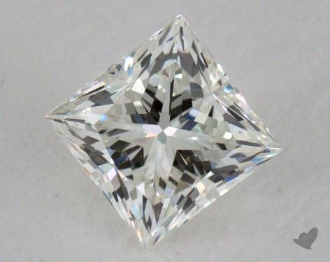 0.81 Carat I-VS1 Very Good Cut Princess Diamond