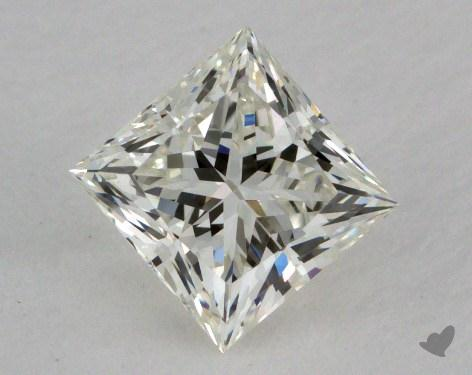 0.82 Carat J-VVS2 Princess Cut Diamond 