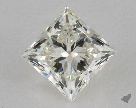 0.85 Carat K-VVS1 Very Good Cut Princess Diamond