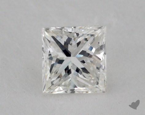 0.55 Carat H-VS2 Princess Cut  Diamond