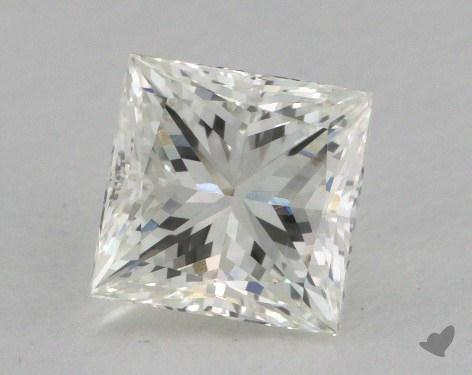 1.01 Carat H-SI2 Princess Cut  Diamond
