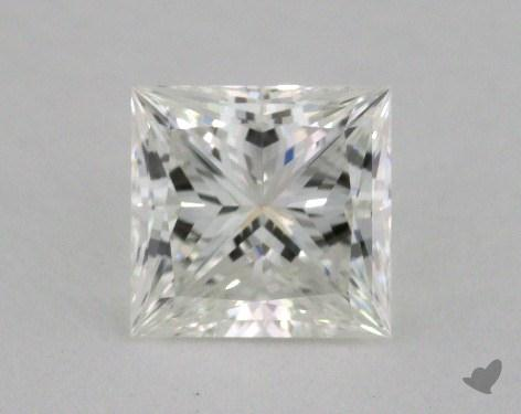 1.26 Carat H-SI2 Ideal Cut Princess Diamond