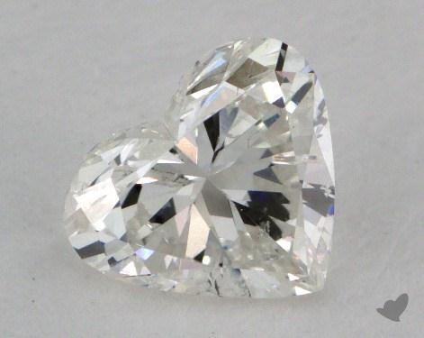 0.72 Carat I-I1 Heart Shaped  Diamond