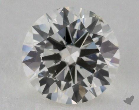 0.96 Carat I-SI1 Round Diamond 