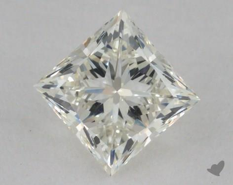 0.96 Carat I-VVS2 Very Good Cut Princess Diamond