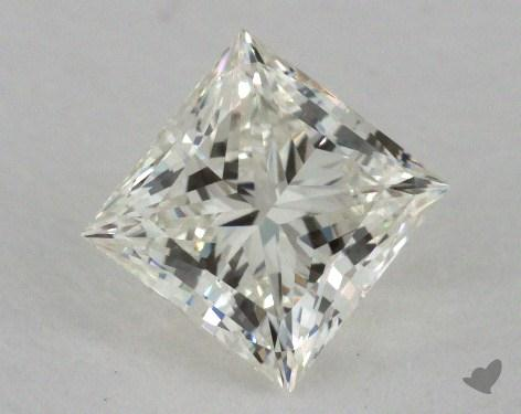 0.77 Carat K-IF Ideal Cut Princess Diamond